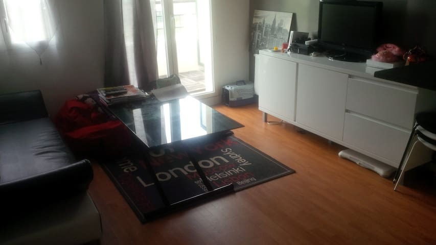 Appartement T2 39m2 + balcon proche Paris/Disney - Meaux - Apartmen