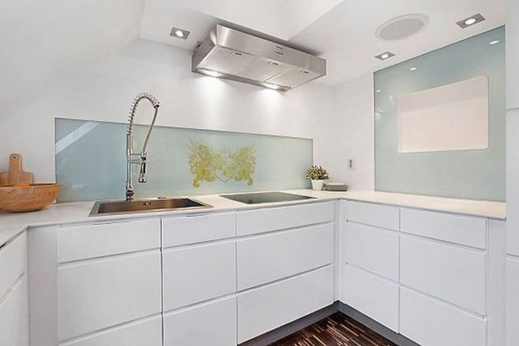 Bright and neat kitchen