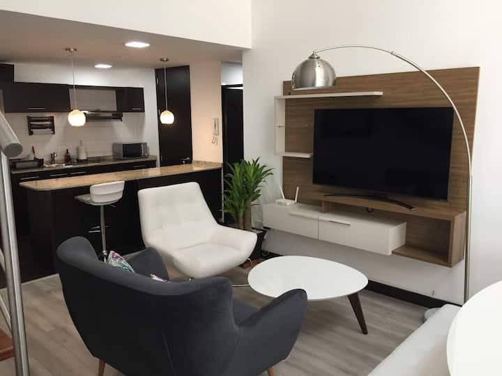 Moderno y exclusivo departamento tipo loft