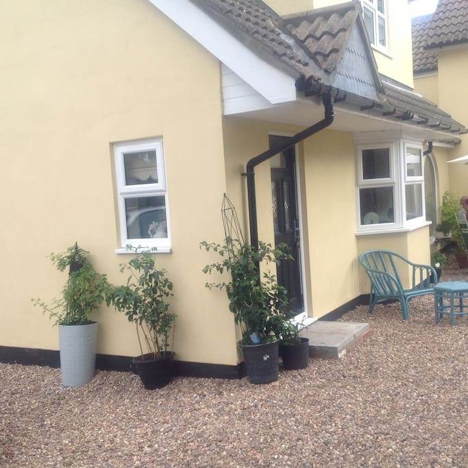 This is the available section of cottage to be let