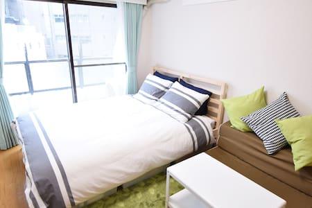 到新宿步行距离才4分钟的舒适公寓!最大能容纳3个人居住!  #3T5 - Nakano-ku
