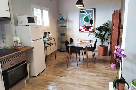 Komfortabel leilighet med god beliggenhet i nord