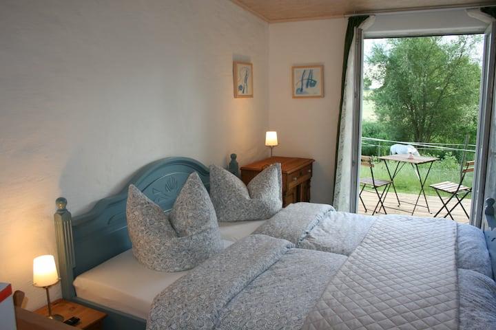 idyllisches Apartment Reiten Natur A4