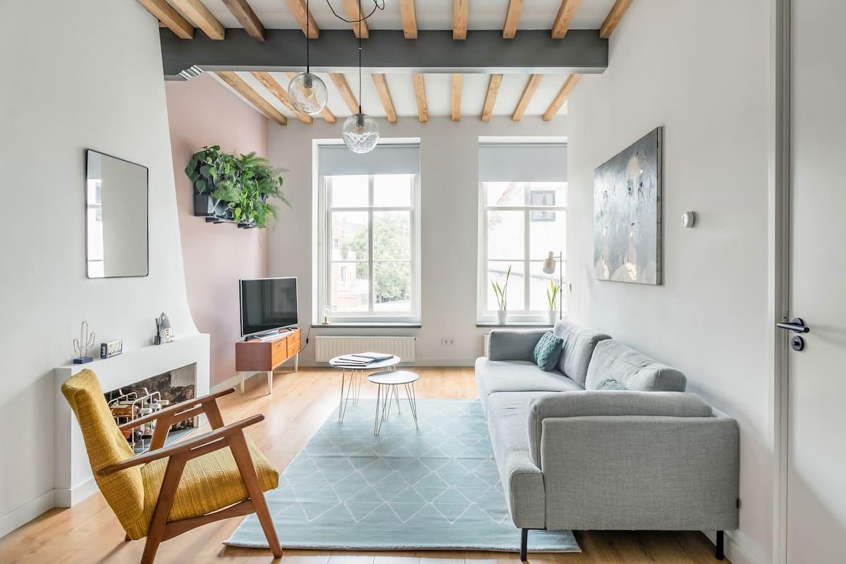 Luxe, stil appartement in centrum van Middelburg