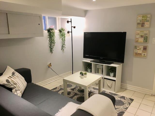 1BR Convenient, Cozy, Private Apartment