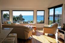 Amazing views from THE LOFT living room