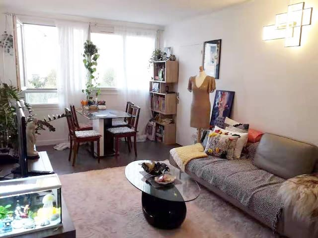 Appartement near Paris, enjoy life with hosts.
