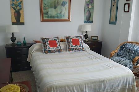 Dos habitaciones dobles. Centro - tarifa