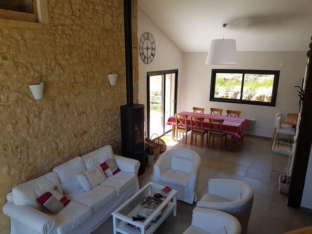 Maison à la campage proche Bergerac - Mauzac-et-Grand-Castang - Loma-asunto
