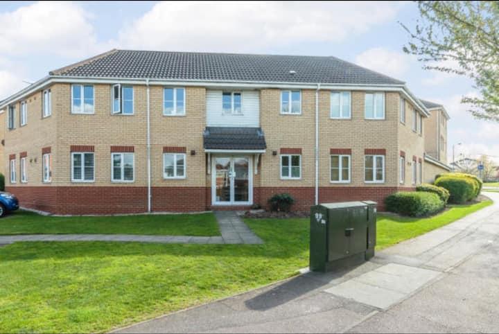 Modern 2 bedroom flat in Chelmsford