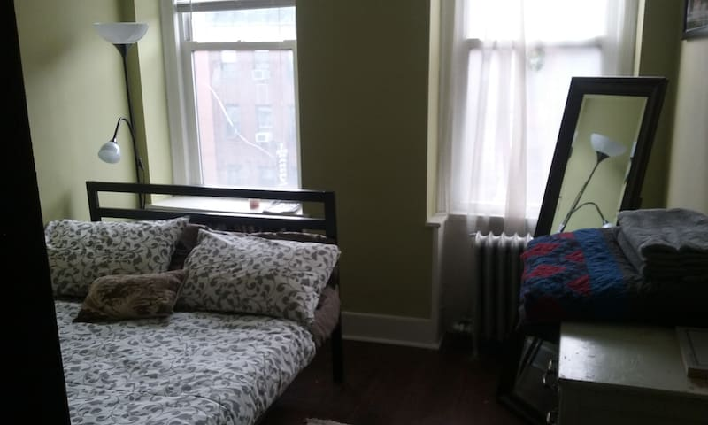Private bedroom in a great neighborhood - New York - Appartement