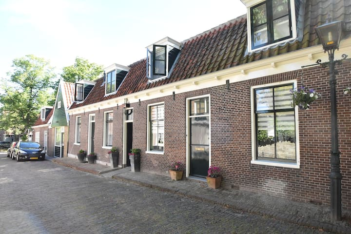 Comfy Holiday Home with Fenced Courtyard in Edam close to Centre
