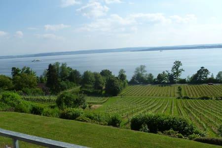 ***** Ferienwohnung Seeblick am Bodensee - Meersburg