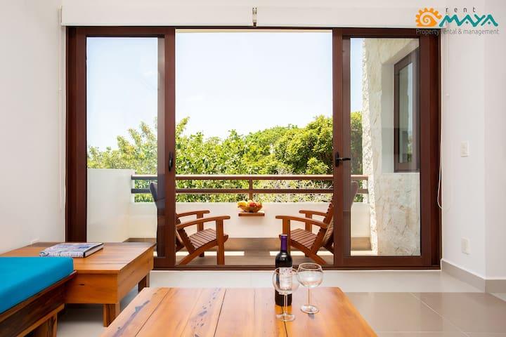 Bright condo within Sirenis Resort