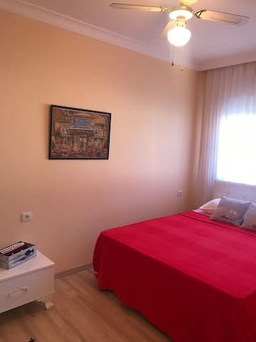 Close to Alacati with green garden (double room)