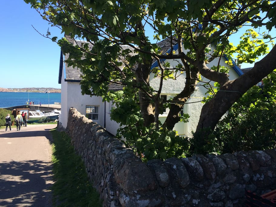 Back of Iona Cottage