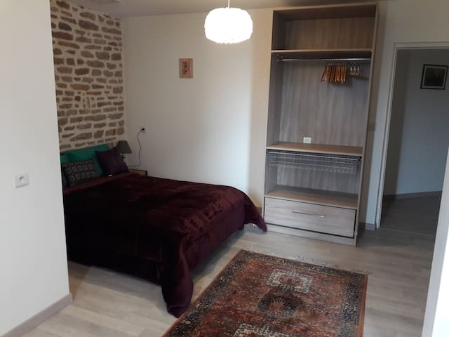 Chambre d'hôtes 2 P. (Anges de la Patience) 85 € - CORMATIN - Nature lodge