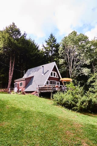 MCM A-Frame in the Catskills - Downsville - Hytte