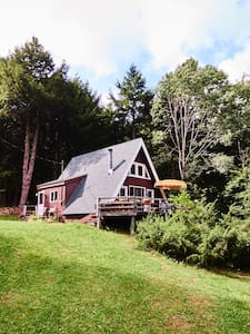 MCM A-Frame in the Catskills - Downsville - Kisház