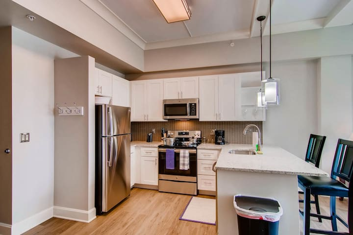 Luxurious stay at modern apartment(Fells Point)