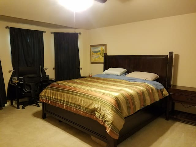 Just South of Austin. King size Tempur-pedic bed