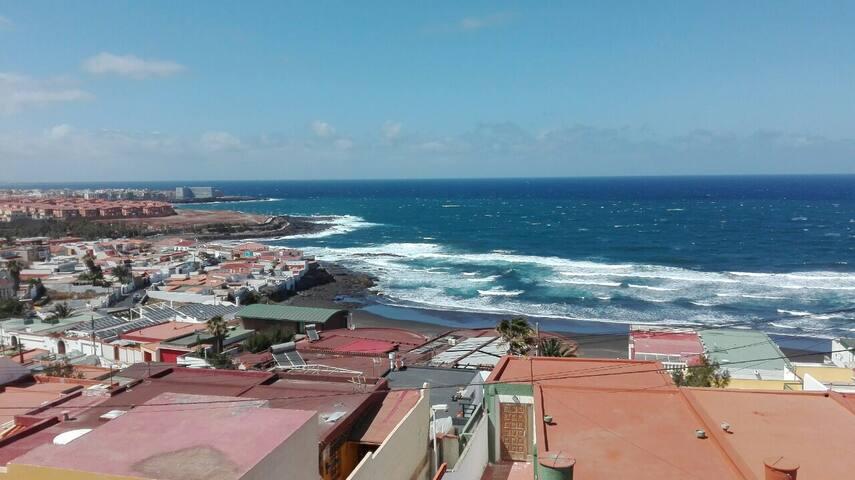 apt 4 pers playa del hombre, gran canaria - Playa del Hombre - Pis
