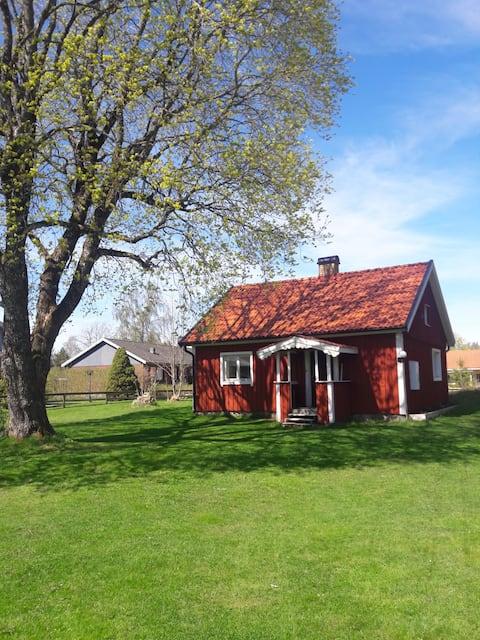 Hyggelig hus i innsjøkanten Ed i Dalsland