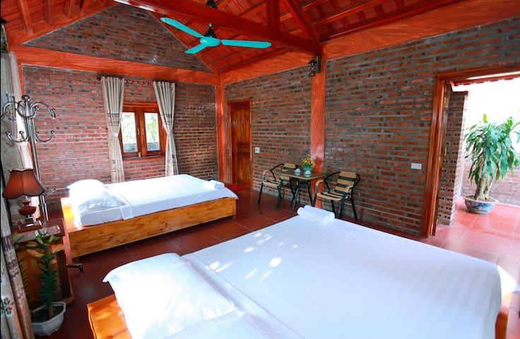 Bungalow Deluxe Family - Ninh Bình - Bungalow