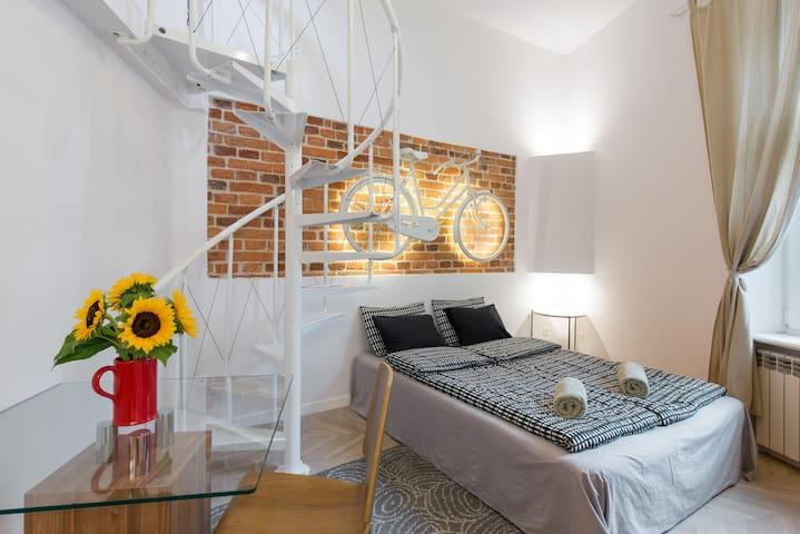 Studio Apartment in Krakow Old Town - Cracóvia - Apartamento