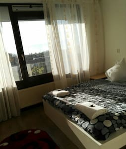 Cozy room with private facilities - Amsterdã - Apartamento