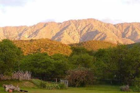 Entrelomas, cabaña Las Tacuaritas - Cabanya