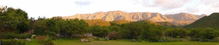 Entrelomas, cabaña Las Tacuaritas