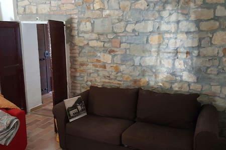 Stanza privata con bagno in rustico - Pazzano di Sopra