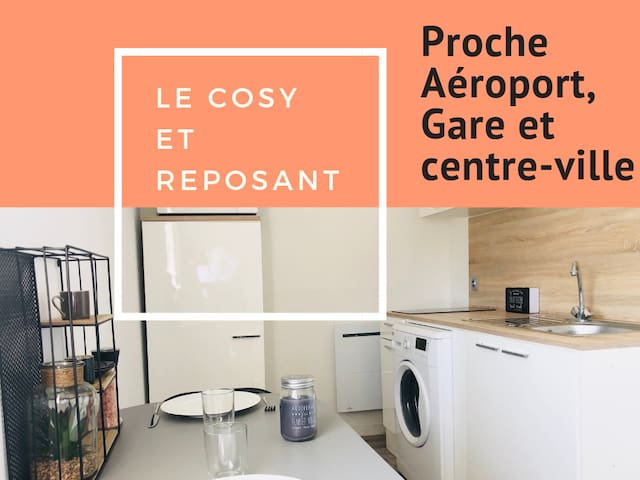 Appartement cosy & reposant
