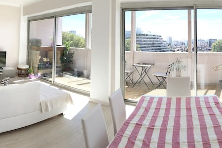 Chambre Lumineuse 15m2 + Balcon / Bright Cozy Room - Toulouse - Byt