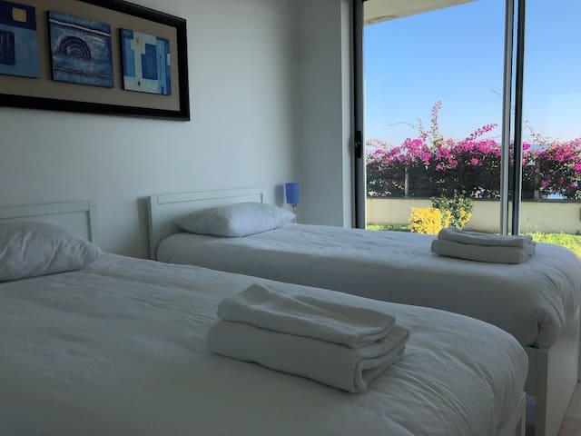 2 nd bedroom and garden