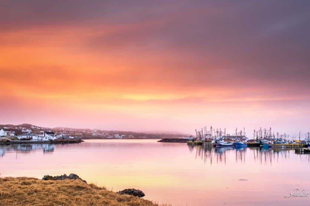 Julian Earle Photography View from Hi Tides Hostel