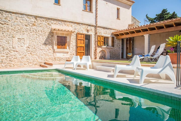 Ca Mado Pereta, charming holiday house in Maria de la Salut