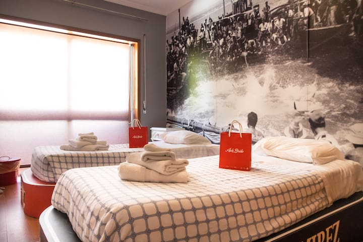 Room, Breakfast and Surf! Enjoy the sea side II - Matosinhos - Bed & Breakfast