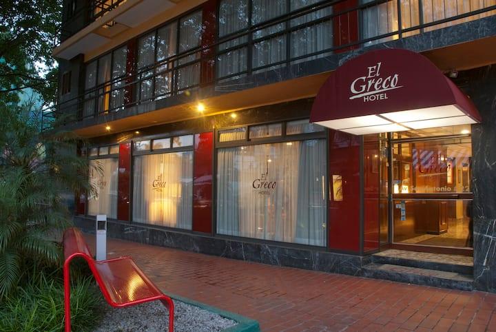 Hotel El Greco... habitación sencilla