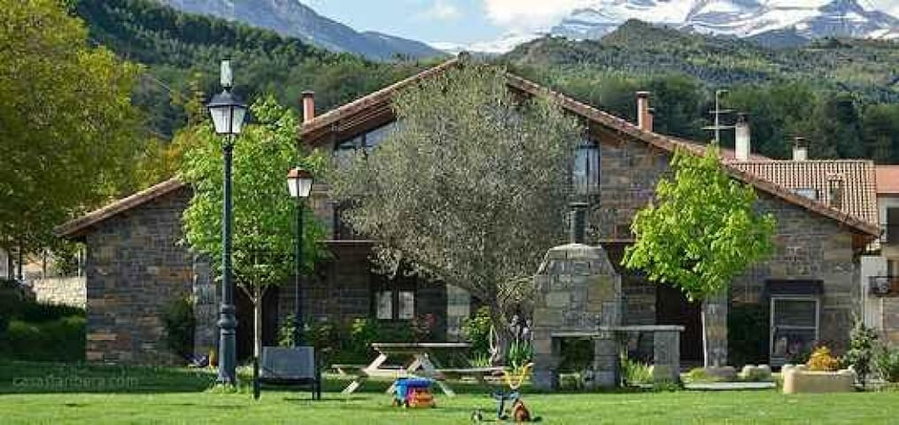 Casa Superior en La Ribera 4 pax