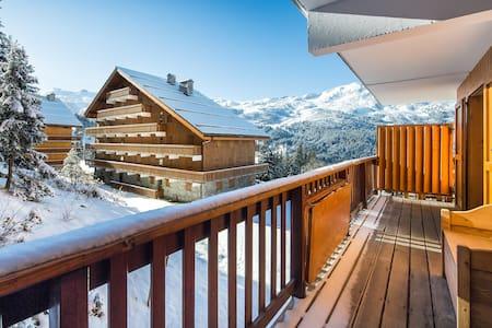 Superbe appartement skis aux pieds Meribel