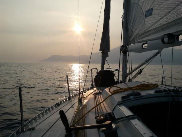 Lit disponible sur le voilier Rackham à Marseille - Marseille - Boot