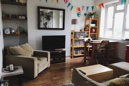 Cozy room in a nice flat (Brixton) - London - Apartmen