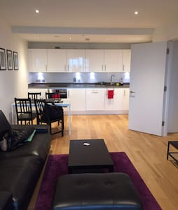 Stunning double bedroom in a luxurious development - London - Apartemen