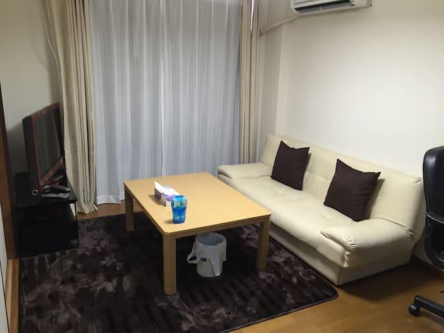 koiwa 8min  ,quite &bright,free wifi - Edogawa-ku - Apartment