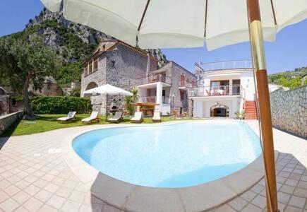 Villa Nerano with pool - Nerano