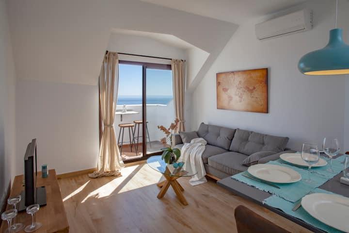 Apartamento NUEVO en Benalmadena Pueblo con vistas