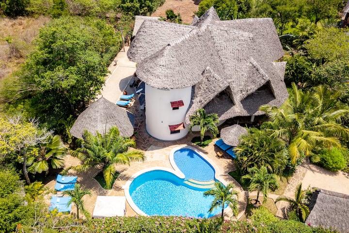 Villa Savannah, met privé zwembad en privé kok