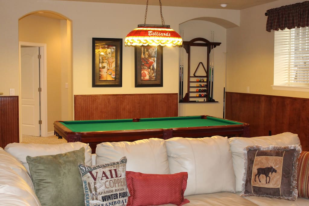 Billiards / Pool Table in Den